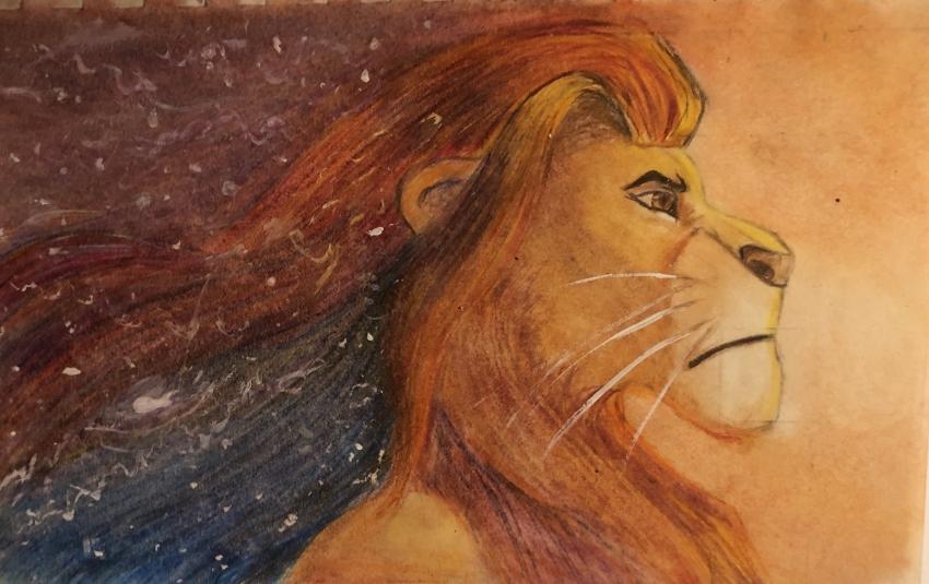 Lion King by Sweet-Ella
